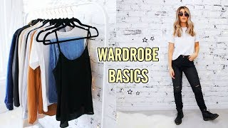 12 CLOSET BASICS YOU NEED FOR AN EPIC WARDROBE ☆