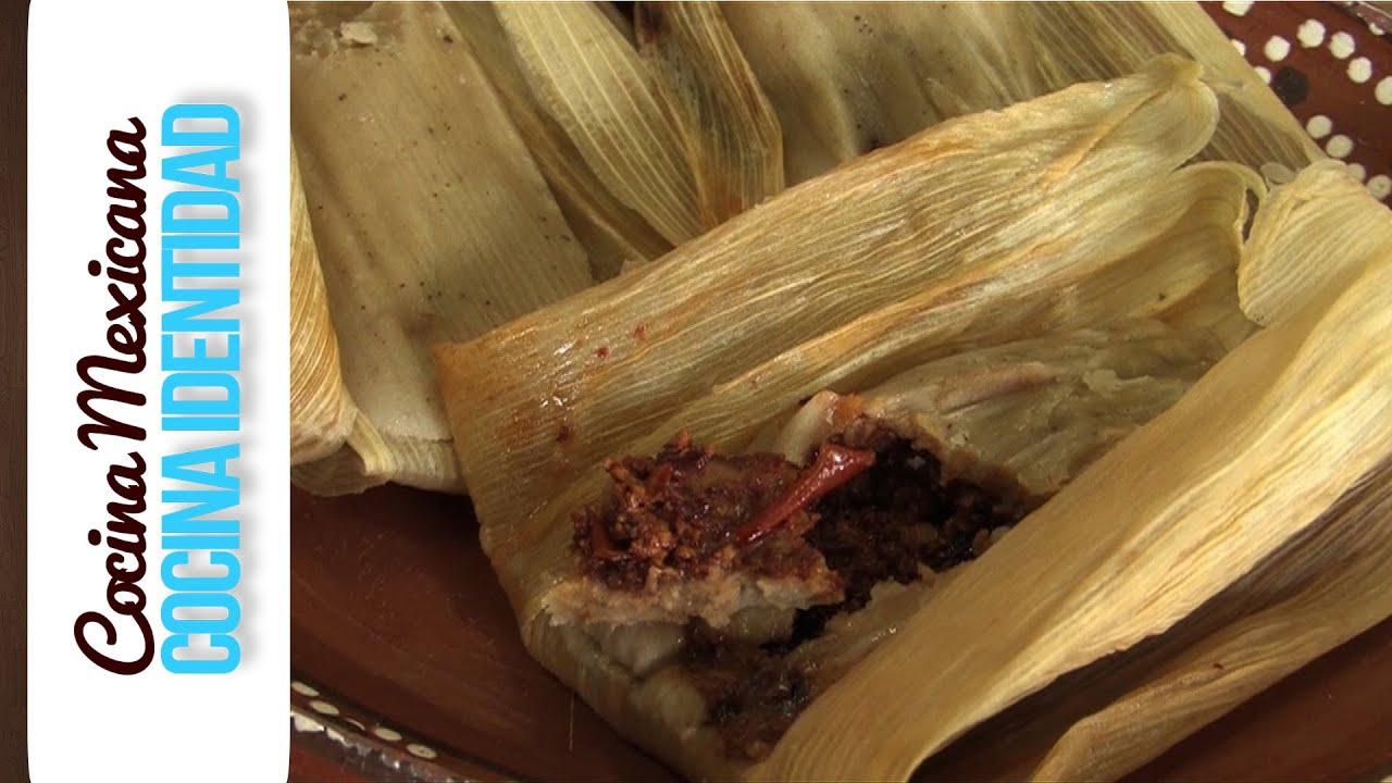 Receta de Tamales de Chile : ¿Cómo hacer tamales rojos?, Yuri de Gortari