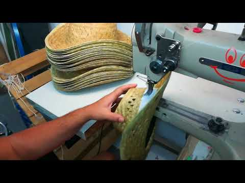 como coser la cinta de sombreros de paja desde 50 und