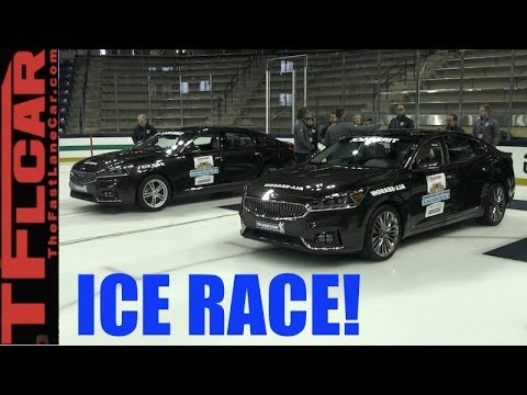 Top 3 Reasons To Buy Or Not To Buy Winter Tires: Ice Race Demo