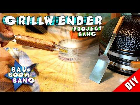 Grillwender selber bauen! Holz küsst Metall