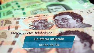 Eleva Banxico tasa de interés ante sorpresa de inflación  #EnPortada