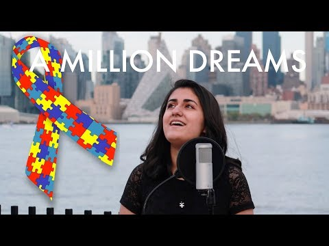 A Million Dreams (The Greatest Showman) | Cover by Anisha in support of #AutismAwareness