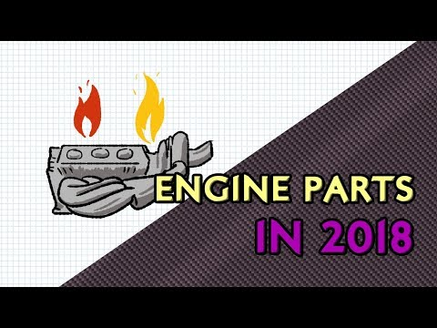F1 Engine Parts In 2018