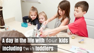 A DAY IN THE LIFE 12 | LIFE WITH FOUR KIDS INCLUDING TWIN TODDLERS | Nesting Story