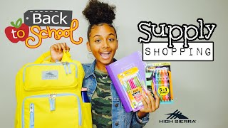 Back to School Supplies Shopping Haul + Giveaway 2019