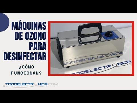 ¿Cómo funciona un ozonizador? Las máquinas de ozono para acabar con el Covid-19