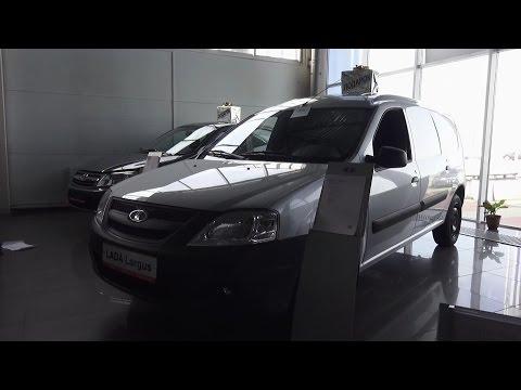 2017 Лада Ларгус Фургон. Обзор (интерьер, экстерьер, двигатель)