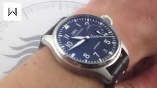 IWC Big Pilot's Watch 5004-01 Luxury Watch Review