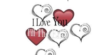 Love You Till The End - Bish (Lyrics Video) - YouTube