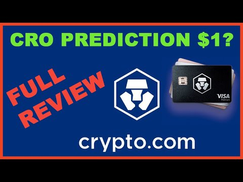 CRO Price Prediction $1+ and Full Crypto com Exchange Review