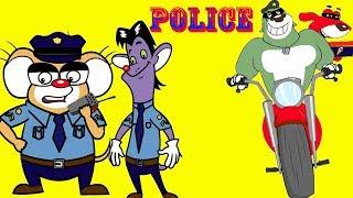 Rat-A-Tat  'Mice Police Chase & Ice cream Thieves Police Car #3'  Chotoonz Kids Funny Cartoon Videos