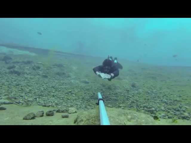 ALABAMA Girls freedive in Vortex Springs