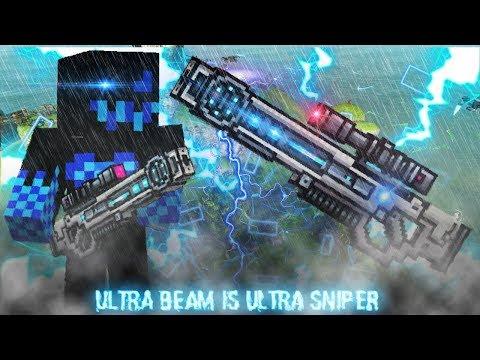 Pixel Gun 3D - Ultra Beam is Ultra Sniper