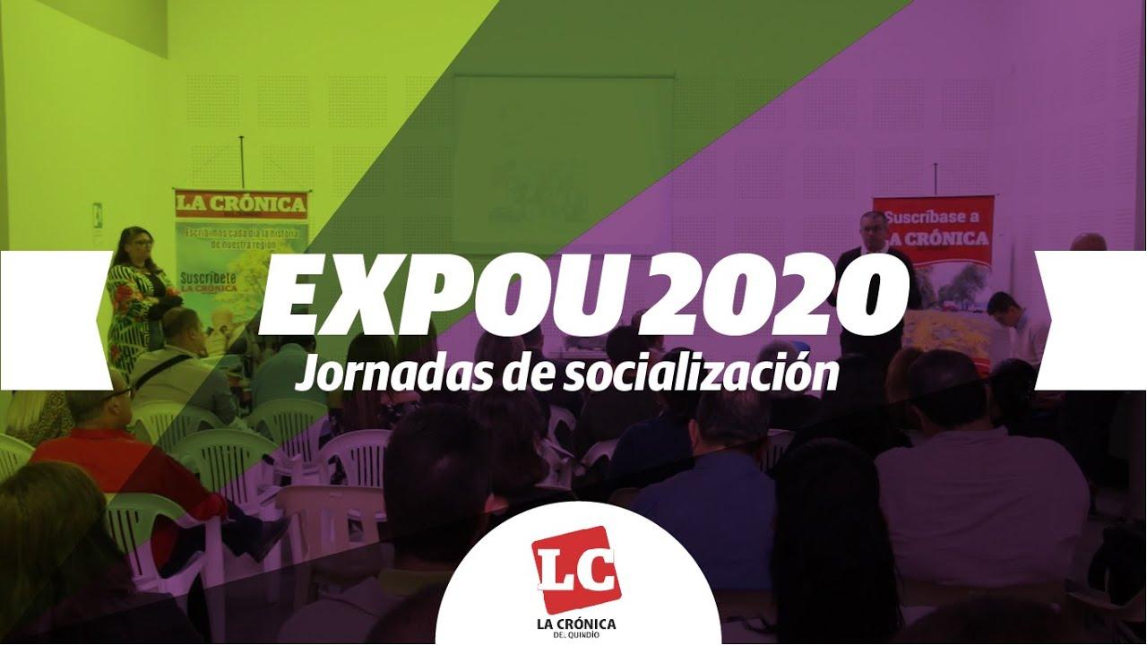 Jornadas de socialización de la tercera feria académica EXPOU 2020