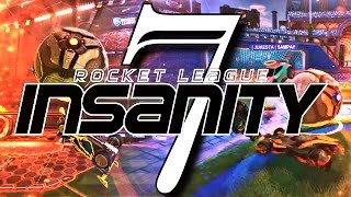 ROCKET LEAGUE INSANITY 7 ! (BEST GOALS, MIND GAMES, REDIRECTS, DRIBBLES, FREESTYLES)