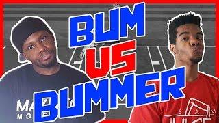 BUM VS BUMMER!! - NBA 2K16 Head to Head Blacktop Gameplay