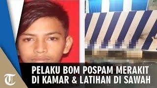 Pelaku Bom di Pospam Tugu Kartasura Rakit di Kamar dan Latihan Meledakkan di Sawah