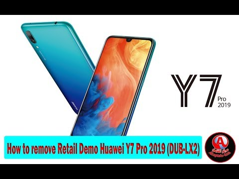 How to remove Retail Demo Huawei Y7 Pro 2019 (DUB-LX2) - FRPFILE
