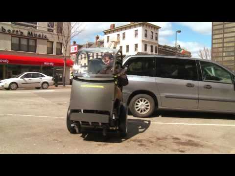 This is How the Segway/GM PUMA Pod Flies Down the Street