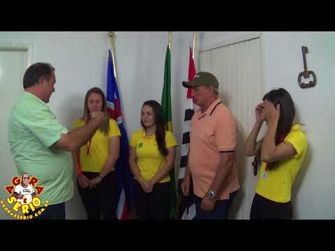 Prefeito Ayres Scorsatto presta Homenagem as Meninas do Rio Rafting