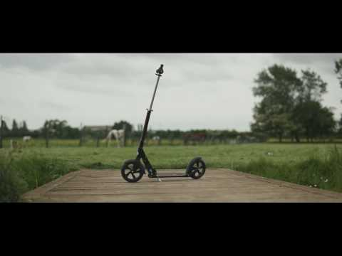 Adult Micro Scooter - Black Micro with lock
