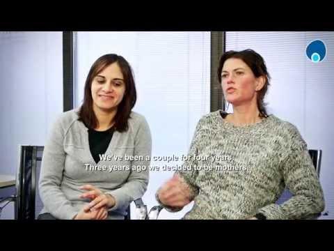 Mª Dolores Ramos and Thaïs Turró