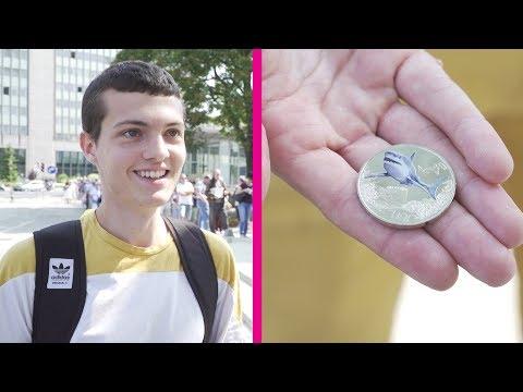 Neue 3-Euro-Münze: Schlange stehen für den Hai