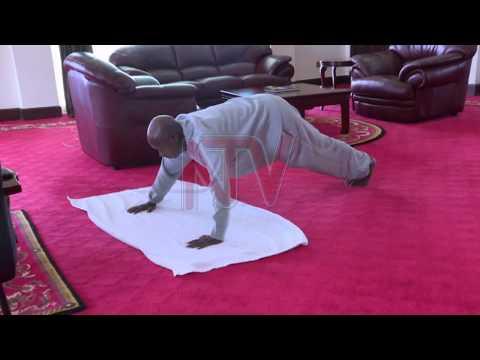 DDUYIRO W'AWAKA: Museveni alaze obukodyo mu katambi kafulumizza