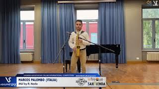 Mascos PALOMBO plays Mäi by R. Noda #adolphesax