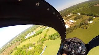 A Ride in the Mosquito XET Helicopter at the 2016 Factory Fly-In