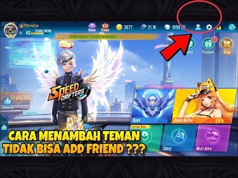 CARA MENAMBAH TEMAN / ADD FRIEND / INVITE TEMAN GARENA SPEED DRIFTERS INDONESIA