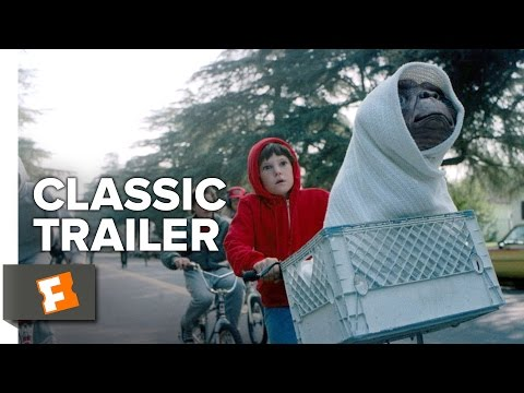E.T. the Extra-Terrestrial Movie Trailer