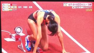 アジア大会2018 陸上女子4×400メートルリレー決勝