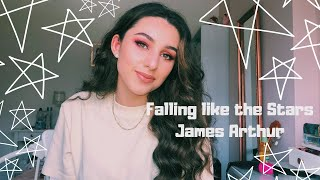 Falling Like The Stars   James Arthur Cover By Aiyana K