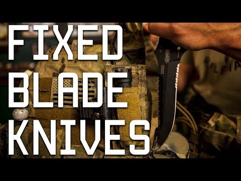 Fixed Blade Knives | Special Forces Review | Tactical Rifleman