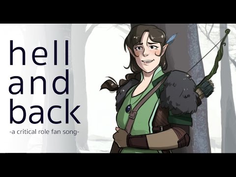 Hell and Back | a critical role fan song