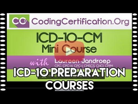 ICD-10 Preparation Courses: ICD-10-CM Mini & Full Courses ...