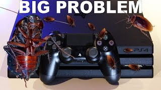 PS4 Number 1 Console Cockroach Infestation? PS4 Roaches BIG PROBLEM