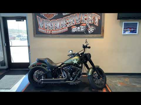 2017 Harley-Davidson Softail Slim S at Vandervest Harley-Davidson, Green Bay, WI 54303