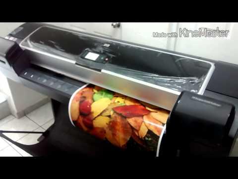 Renta plotter HP Designjet Z5200 en Satori