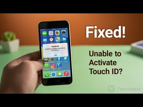 How to Fix Touch ID Not Working/Unable to Activate Touch ID on This iPhone/iPad