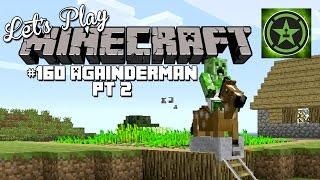 Let's Play Minecraft: Ep. 160 - Againderman Part 2