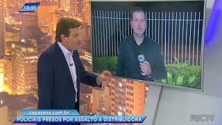 Policial e segurança são suspeitos de roubar distribuidora de bebidas em São José dos Pinhais