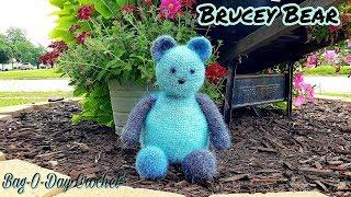 HOW TO #CROCHET A TEDDY BEAR | CROCHET STUFFED ANIMAL |  BAGODAY CROCHET TUTORIAL #498