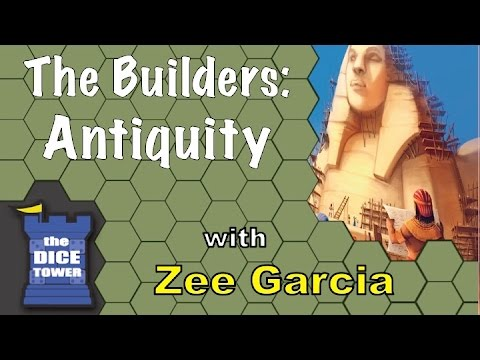 The Dice Tower reviews The Builders: Antiquity