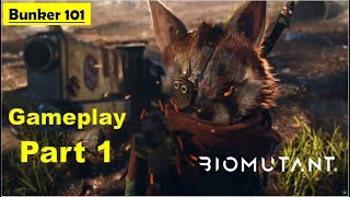 Biomutant  - Bunker 101 - Gameplay Part 1 No Commentary