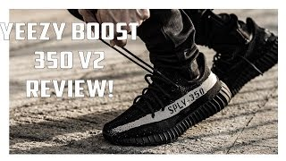 "Yeezy Boost 350 V2 ""Black/White"" Review"