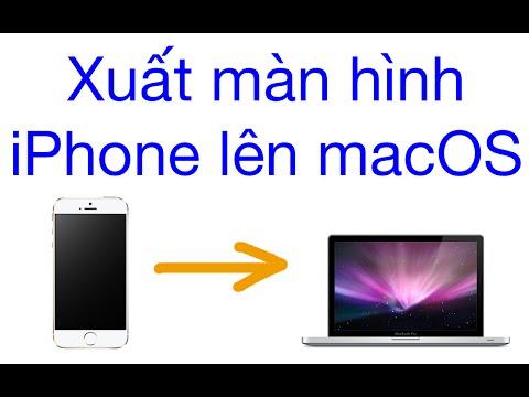 Xuất màn hình iPhone lên Macbook (OS X)