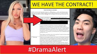 I got the RiceGum & Abby Rao CONTRACT! #DramaAlert -  Amanda Cerny wants to BOX me?